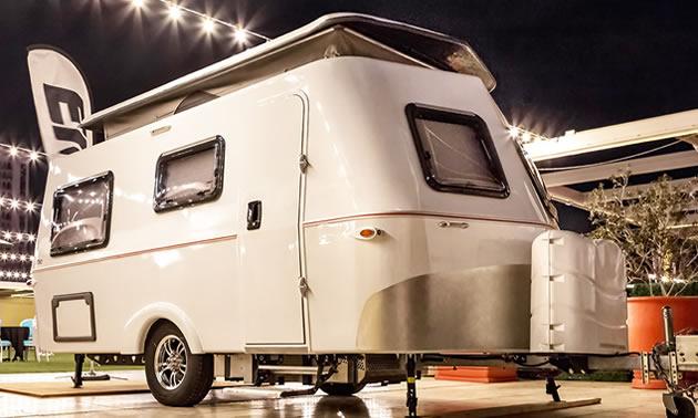 The Eriba Retro towable trailer