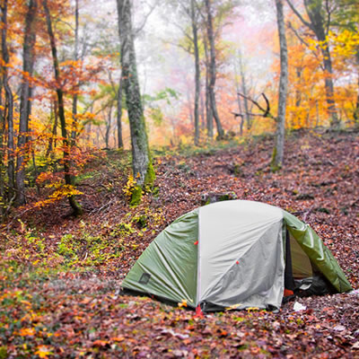 The 2017 Fall Camping Appreciation Weekend is on September 8-9.