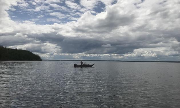 Lac la Biche lake.