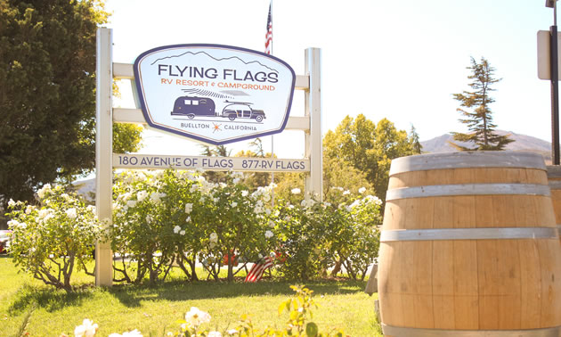 Flying Flags RV Resort & Campground.