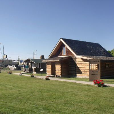 The B.C. Provincial Police Barracks is part of the historic buildings at the Fort St. John North Peace Museum.