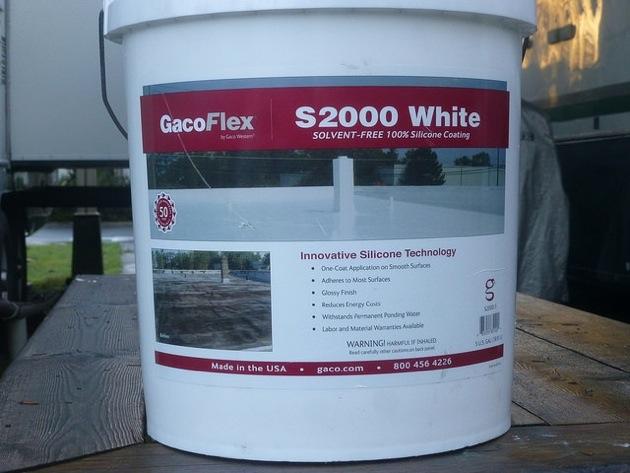 Dennis Vanvelzen used GacoFlex S20 to repair his RV roof.
