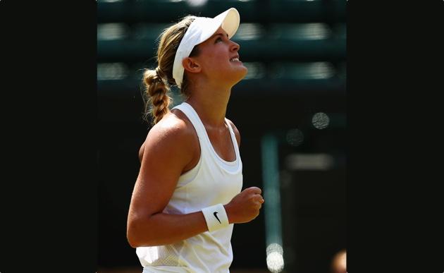 Tennis superstar Genie Bouchard