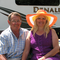 Duncan and Barb Gilchrist have recently become full-time RVers.