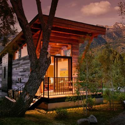 The Fireside Resort in Wilson, Wyoming.