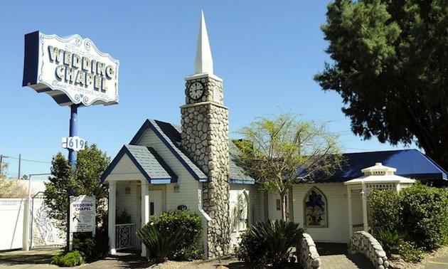 Graceland Wedding Chapel, Las Vegas, Nevada.