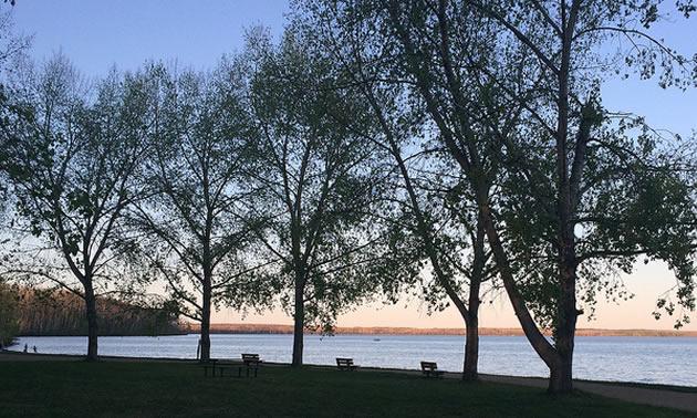 Gregoire Lake Provincial Park.