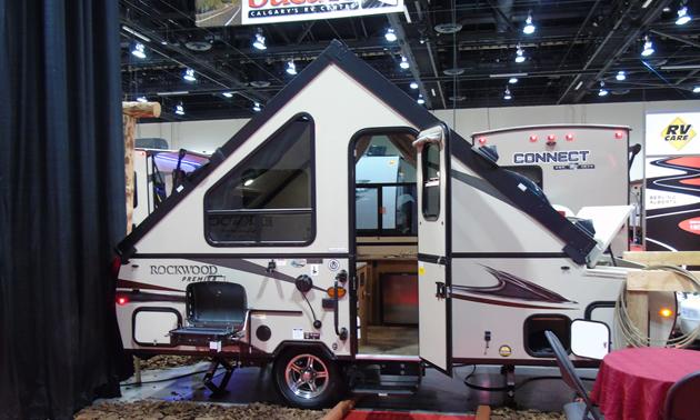 Rockwood Premier Hard-side Pop-up Camper trailer