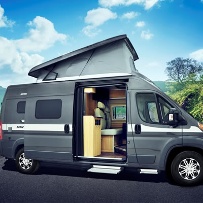 Picture of all-new Hymer Loft Edition