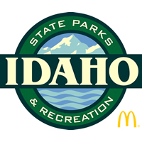 Idaho state park logo