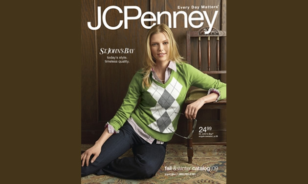Cover of JC Penny catologue