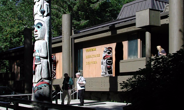 The Totem Heritage Center celebrates the native culture of Alaska through the preservation of its art.