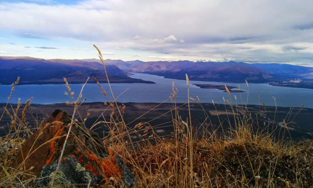 Kluane Lake is the largest lake in the Yukon.