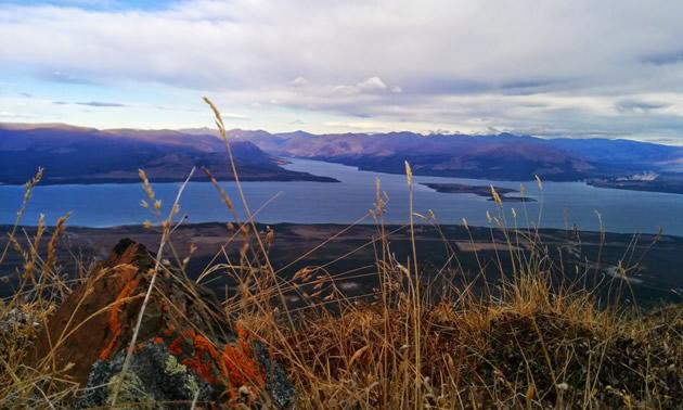 Kluane Lake is the largest lake in the Yukon.