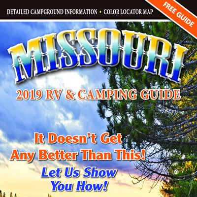 The 2019 Missouri RV & Camping guide is now available free of charge, in both print and digital formats.