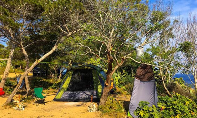 Tent in Malta