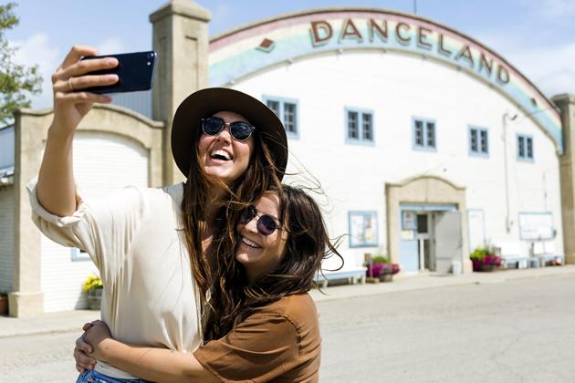 Danceland in Watrous, Saskatchewan, has a 5,000-square-foot, horsehair dance floor.