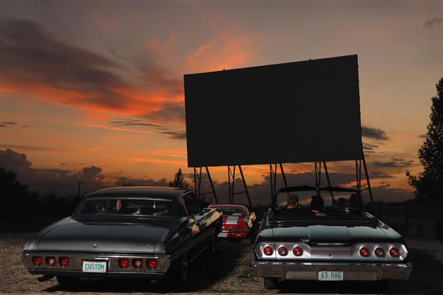 Manitou is home to one of Canada's last drive-in theatres.