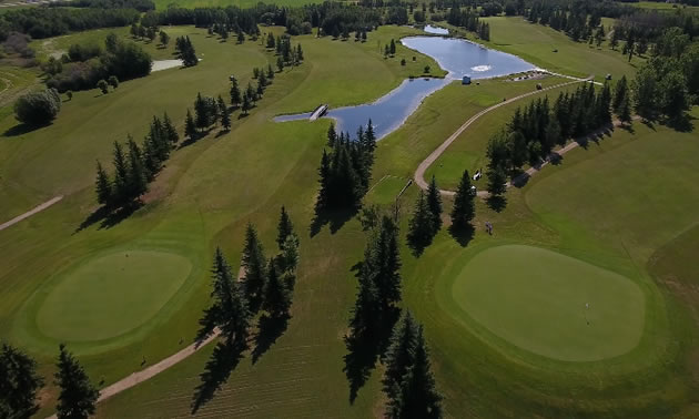 Trails End Mayerthorpe Golf and Country Club.