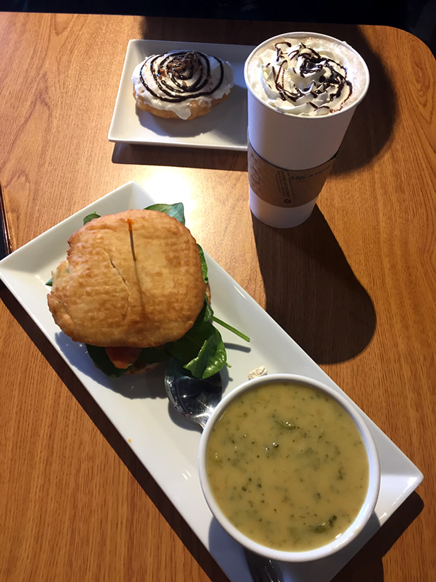 Food and drink available in Merritt, B.C.