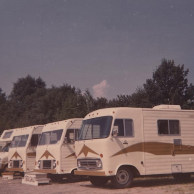 The Moto-Chalet, a pioneering RV built in Quebec.