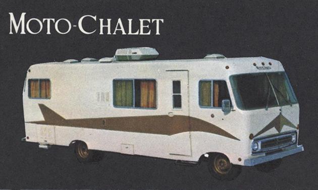 A 26' 1970 Moto-Chalet