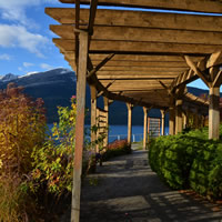 Nakusp's waterfront walkway is a beautiful way to discover the Arrow Lakes.
