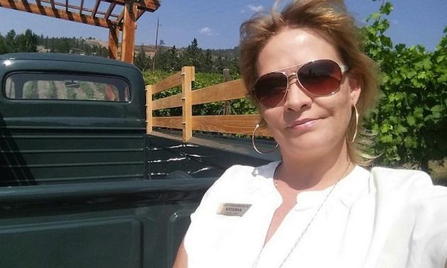 Natasha Mitchener, owner/operator of Wine Tours Gone South.