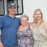 Dwayne, Bernadette and Leah O'Quinn