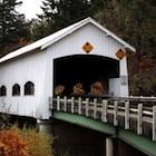 Rochester Covered Bridge near Sutherlin,