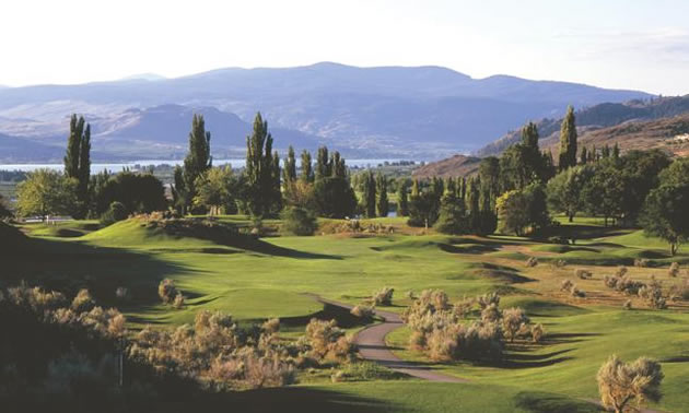 Audrey McCulloch's favourite is Hole 4 at the Osoyoos Golf Club.