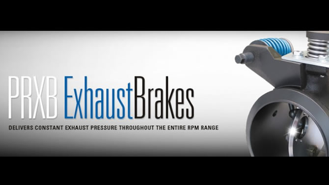 PRXB Exhaust Brakes from Pacbrake.