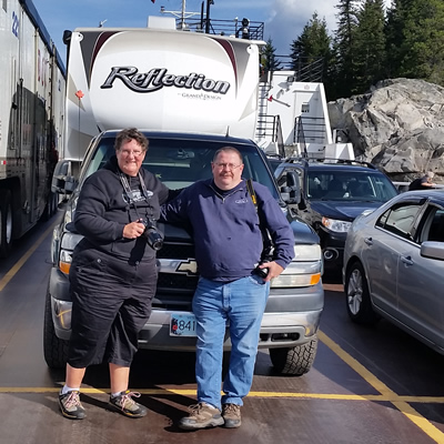 Pat Deleenheer and Jeff Ashworth love to travel the byways throughout B.C., soaking up the culture and history of its communities