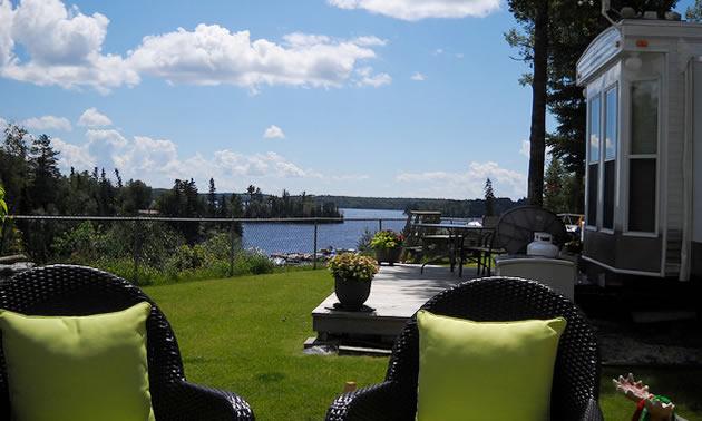 Bruce Hunt found a great multi-year rental on Longbow Lake near Kenora, Ontario.