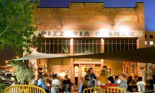 Pizzeria Bianco restaurant in Phoenix, Arizona.