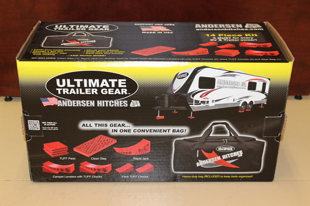 Anderson Hitches' Ultimate Trailer Gear kit.
