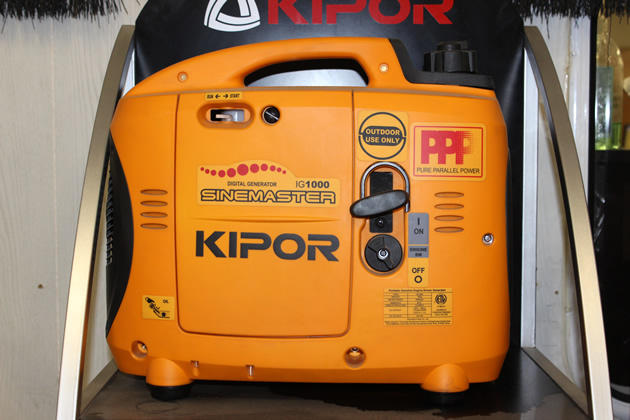 Kipor Power Equipment generator.