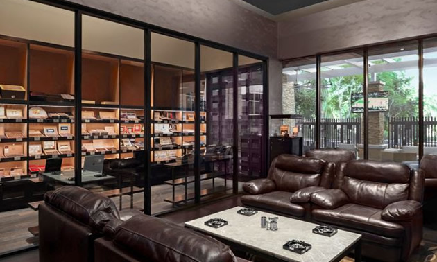 Pívat Cigar Lounge at Agua Caliente Casino Resort Spa
