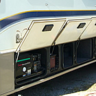 Bounder RV with storage compartments