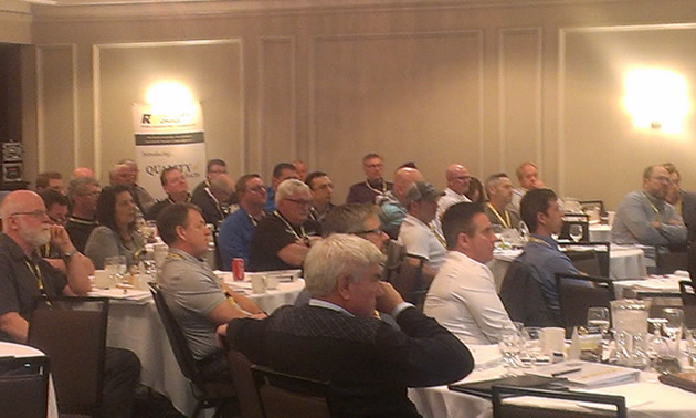 Picture of RV Care meeting group in Toronto.