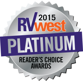 2015 RVwest Reader's Choice Awards