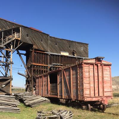 The Atlas Coal Mine Museum.