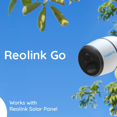 The 4G rechargeable, battery-powered security camera.