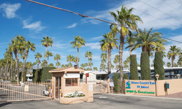 Rincon Country RV Resort East.