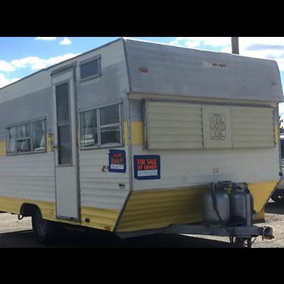 A Road Ranger trailer.