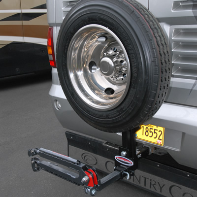 Picture of the Roadmaster Spare Tire carrier.