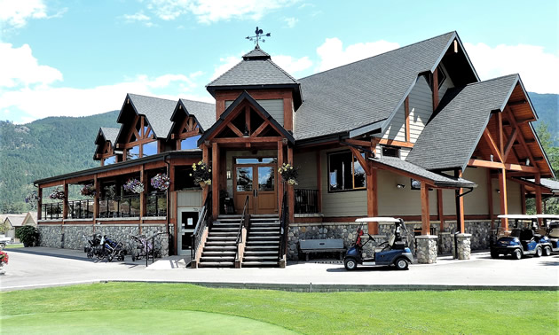 The clubhouse at Royal York Golf Course.