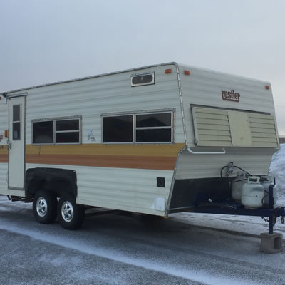 The best-selling Rustler Travelaire trailer is still a common sight on the road.