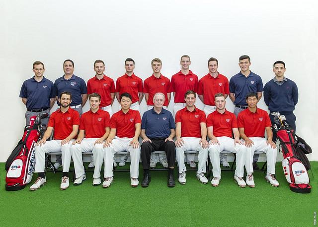 SFU Men's Golf Team.
