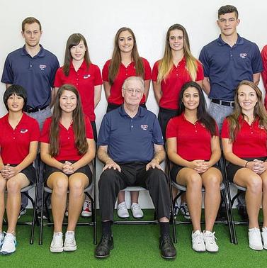SFU Women's Golf Team.